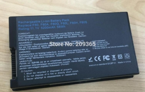 pin laptop asus x80l